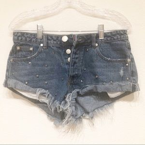 Signatures distressed shorts Medium 30 High Rise